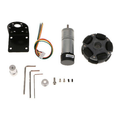 DIY Smart Robot Car Kit With 9V/12V Reduction Motor + Universal Wheel