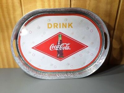 Coca Cola Coke Serving Tray by The Tin Box company (2003) Used