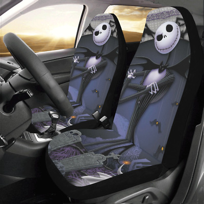 Universal Fits The Nightmare Before Christmas Compatible Car Seat Cover Set of 2