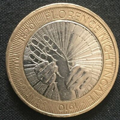 Florence Nightingale £2 Pound Coin 2010