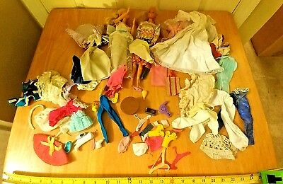 Barbie Doll Lot Clothes,Accessories,Shoes,Hair Dryer,Table Nice Variety Of Items