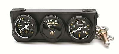 Auto Meter 1-1/2in Blk Mech Gauge Panel