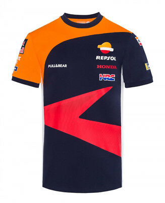 Repsol Honda Men's Replica Team T-Shirt | Navy | 2018