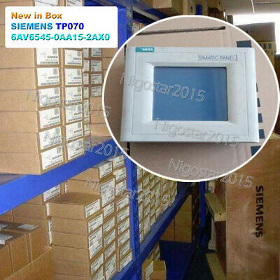 New for SIEMENS SIMATIC TP070 6AV6545-0AA15-2AX0 Touch Panel Genuine New in Box