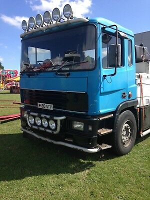 erf ec10 6x4 export shunter show lorry foden  man cummings engine eton gearbox