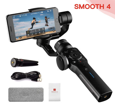 Smooth-Q 3-Axis Handheld Gimbal Stabilizer for Smartphone iPhone Samsung