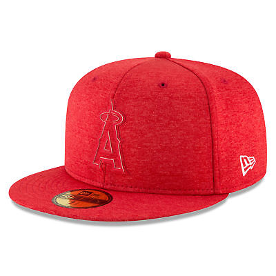 MLB Los Angeles Angels of Anaheim 2018 Clubhouse 59FIFTY Cappello Non Regolabile