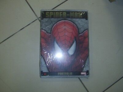 MARVEL,portfolio,spider man ,limité,collector,steel gallery occasion
