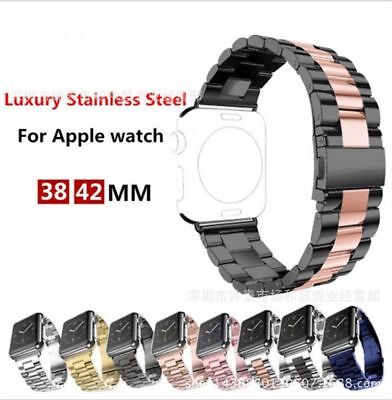 Replacement For Apple Watch Series 4 3 2 1 Bracelet Strap Metal Band 38/42mm 44m