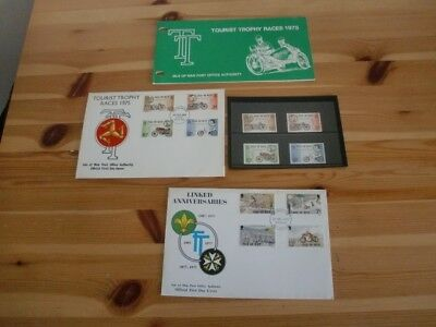 Isle Of Man Tt Races Stamps & First Day Covers