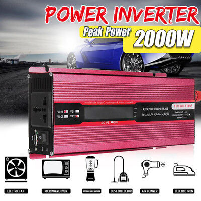 00AE High Performance Solar Power Inverter DC12V To AC220V Modified Sine Wave