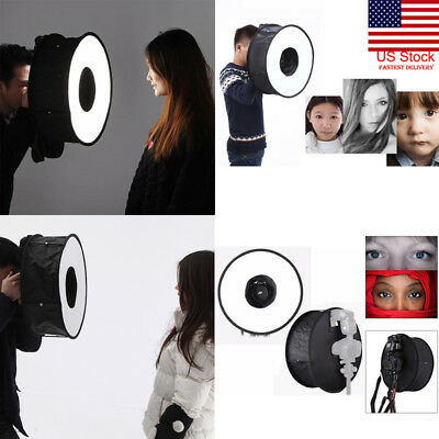 "US 18""/45cm Photo Ring Speedlight Softbox Round Diffuser Speedlite Flash Light"