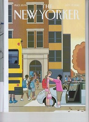 Looking Up The New Yorker Magazine September 17 2018 No Label