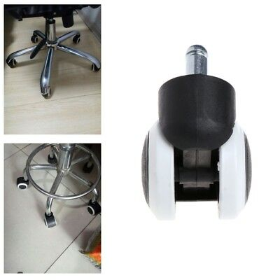 """5 Pcs 2"""" Office Home Chair Swivel Casters Mute Wheel Universal Replacement"""