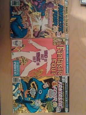 Marvel comics. Fantastic Four x 3