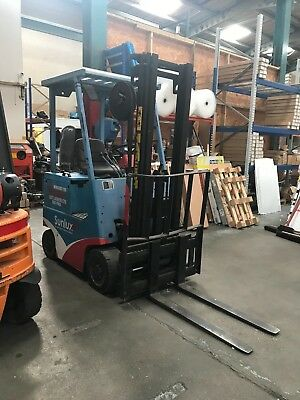 Electric Fork Lift Truck Hamech HC16S with side shift Need new battery