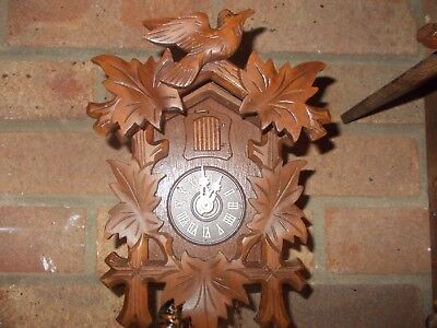 Small Black Forest Cuckoo Clock...fully functional