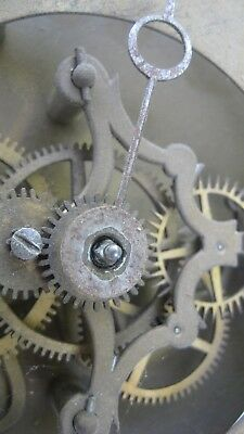 Antique rare  French Skeleton Clock Movement