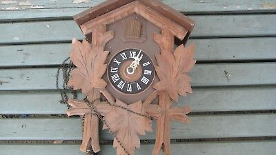 old cuckoo clock for restoration