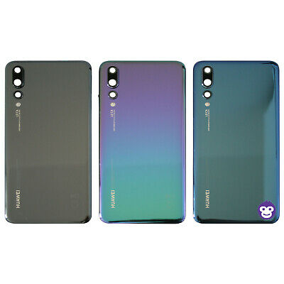Genuine Huawei P20 PRO CLT-LO9 Battery Back Cover Rear Housing Case Camera Lens