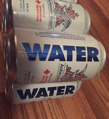 New 2017 6 Pack Can Drinking Water collectible Anheuser Busch Water From Harvey