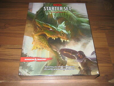 D&D 5th Edition Starter Set Boxed Set WotC 2015 Neu New Sealed TRPG
