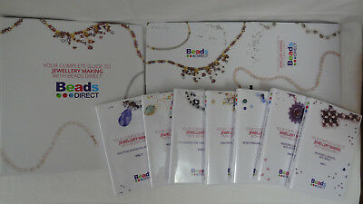 Beads Direct Complete Guide Jewellery Making 7 CDROMs With Box&Folder RRP£124.90