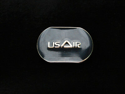 PF03126 *NOS* VINTAGE 1970s **US AIR** AIRLINE & AVIATION COMPANY BELT BUCKLE