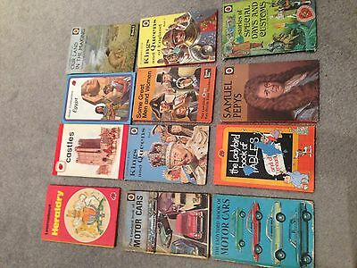 Collection of VINTAGE LADYBIRD BOOKS antique collector