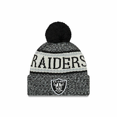 31c39eefa NFL Oakland Raiders New Era 2018 Official Cold Weather Sport Knit Unisex