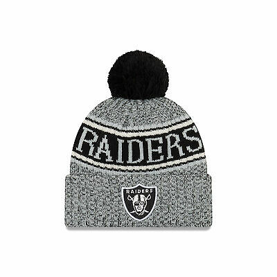 NFL Oakland Raiders New Era 2018 Official Cold Weather Reverse Team Colour  Sport c91b2b72a5e3
