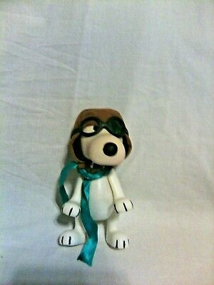 Vintage 1966 Snoopy Red Baron Plastic toy United Syndicate Inc.