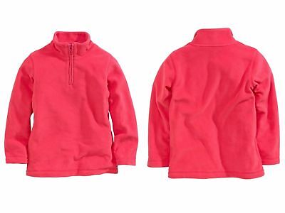 Next New Girls 7 Years Soft Coral Pink Over The Head Fleece