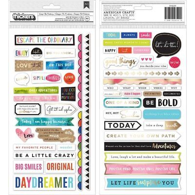 American Crafts - Vicki Boutin - Field Notes Collection - Thickers - Chipboard