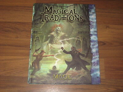 Mage The Awakening Magical Traditions Sourcebook HC 2007 White Wolf  WW40309 VG