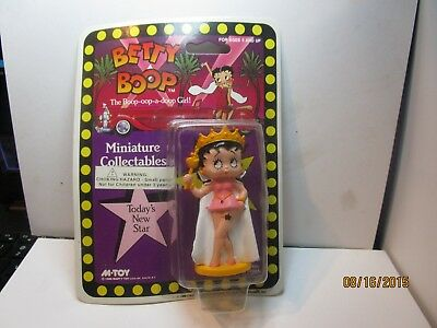 Betty Boop Miniature Collectable