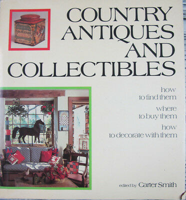 Country Antiques And Collectibles Carter Smith 1981 Folk Art HCDJ