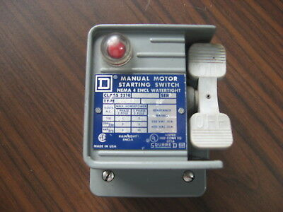 Square D 2510 KW-1A Motor Starting Swith With Water Tight Enclosure