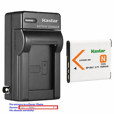 NP-BN1 BC-CSN Battery or Wall Charger for Sony Cyber-shot DSC-TX9 W310 W320 W330