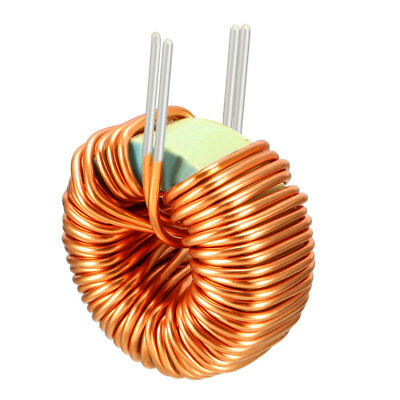 1Pcs Horizontal Toroid Magnetic Inductor Monolayer Wire Wind Wound 50uH 20A Coil