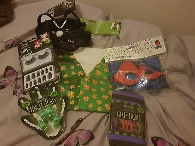 Joblot Of Kids fancy dress / Halloween party  / dressing up Costumes