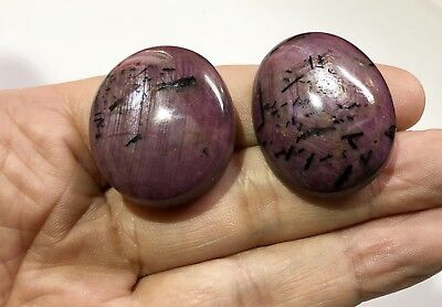 260  Ct Large Star Ruby Gemstone Cabochon Lot Natural Untreated R3