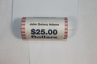 John Quincy Adams Dollar Roll