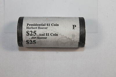 US Mint Herbert Hoover Dollar Roll from Philadelphia