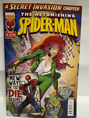 MARVEL Collectors Edition THE ASTONISHING SPIDERMAN Number #13 - (9th June 2010)