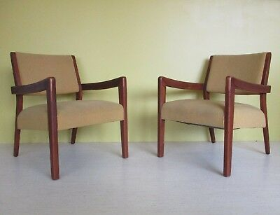 "1950""s Modern Lounge Club Arm Chairs mid century danish vintage"