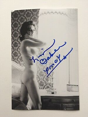 Lisa Baker Autographed Photo Playboy Playmate Of The Year PMOY 1967
