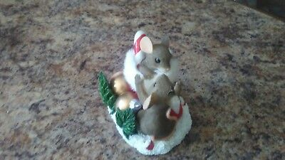 """Charming Tails """"Stocking Stuffers"""" Fitz and Floyd 97/27  Club Exclusive"""