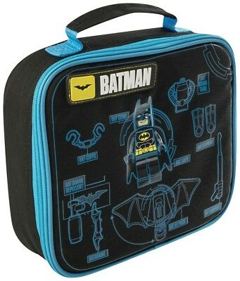 The Lego Batman Movie Kids Boys School Trips Insulated Lunch Bag