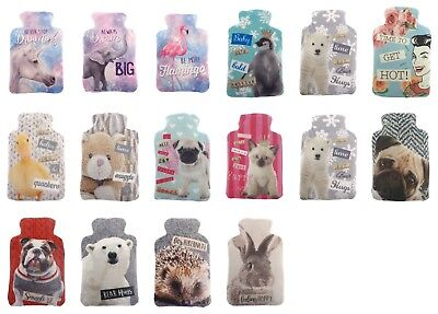 Soft Plush Microwave Heat Wheat Bag With Fantasy Scented Printed Cover